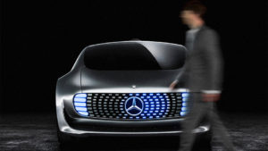 Mercedes self-driving cars