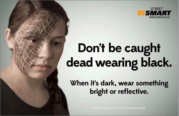 Be street smart campaign